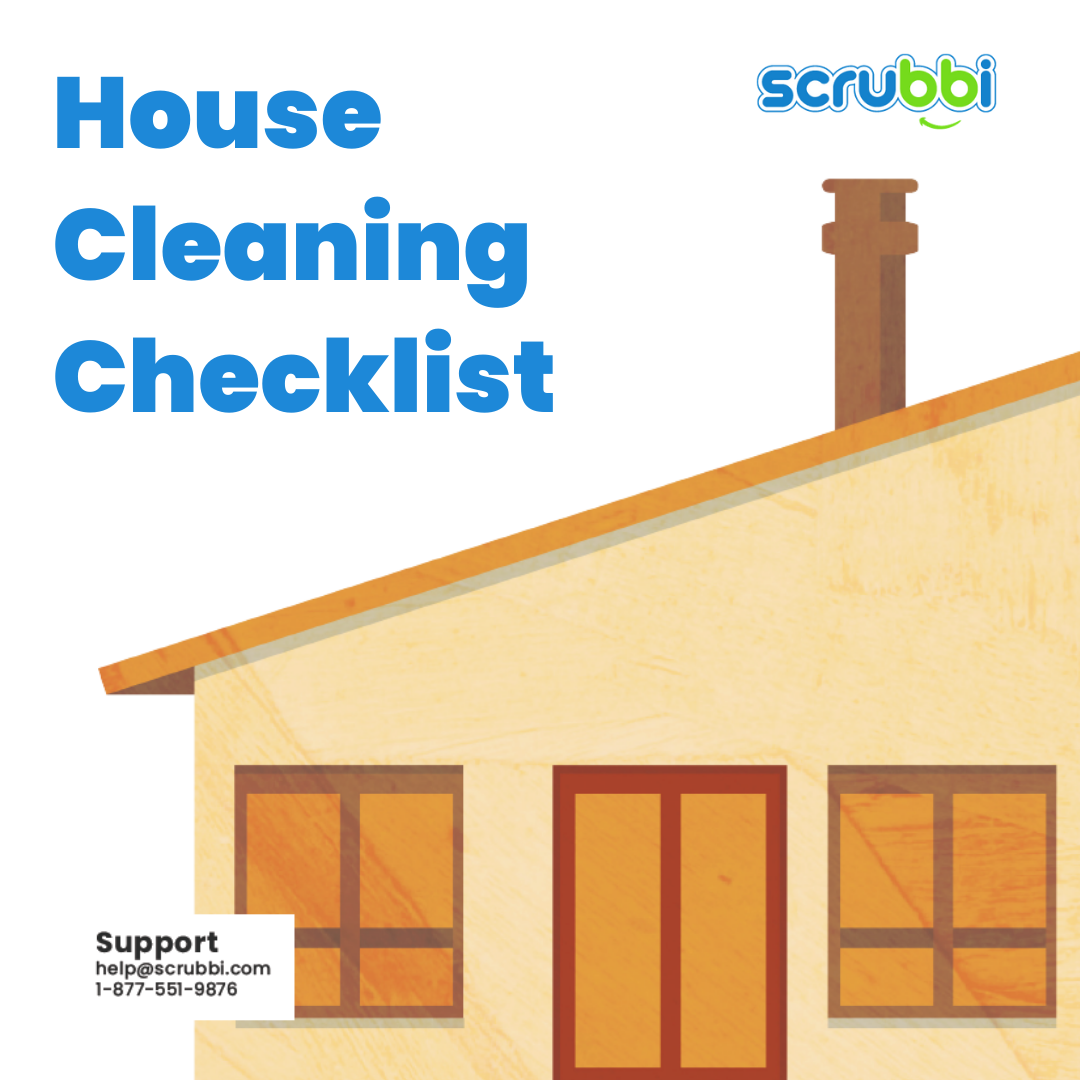 housecleaning checklist house