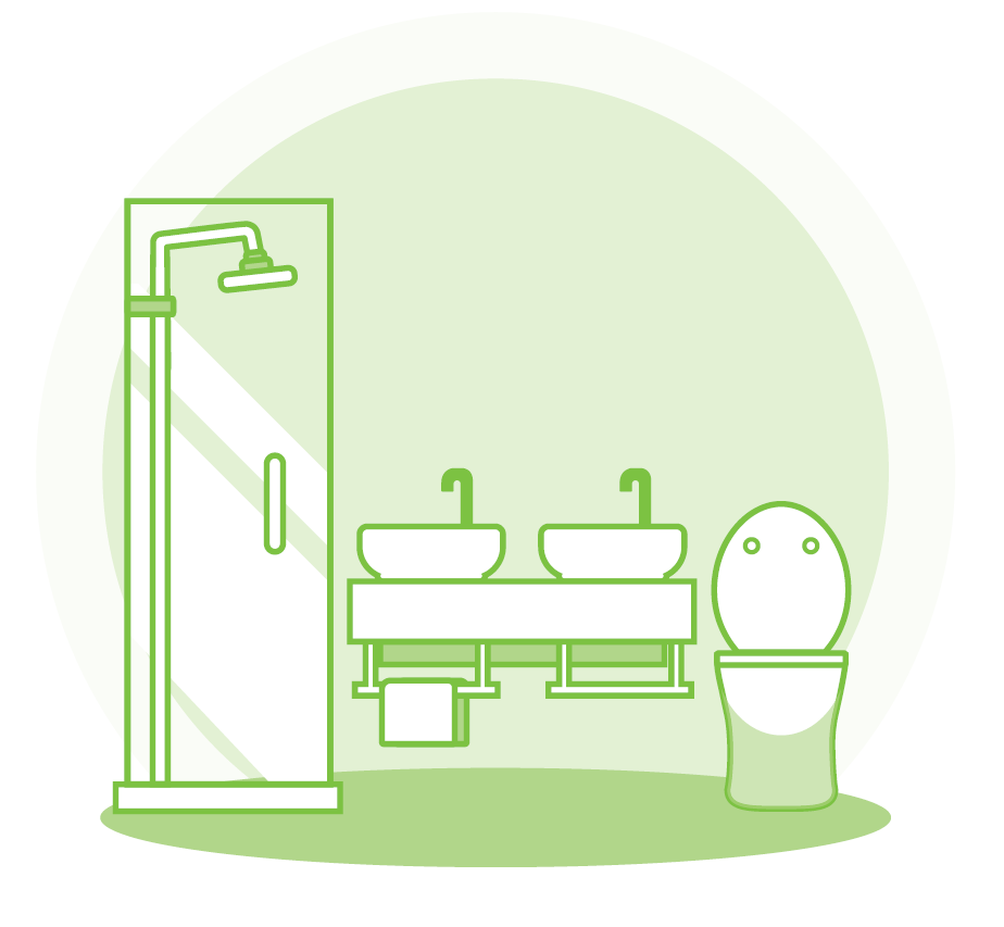 bathroom cleaning checklist image